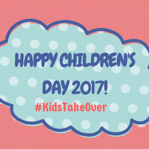 Happy Children's Day 2017